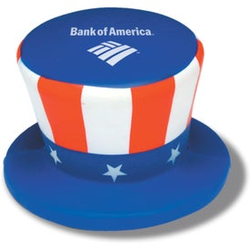 Uncle Sam Hat Stress Ball (Economy)