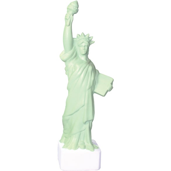 Green Statue of Liberty Stress Reliever