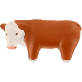 Steer Stress Reliever Branded with Your Logo