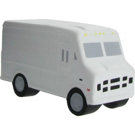 Step Van Stress Reliever with Your Slogan