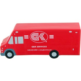Step Van Stress Toy Imprinted with Your Logo