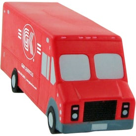 Step Van Stress Toy Printed with Your Logo