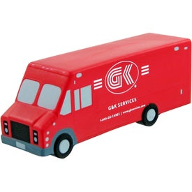 Step Van Stress Toy for Your Company