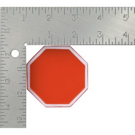 Stop Sign Stress Ball Imprinted with Your Logo