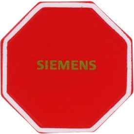 Stop Sign Stress Reliever Printed with Your Logo