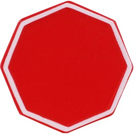 Company Stop Sign Stress Reliever