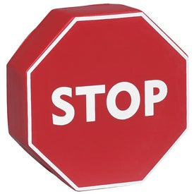 Branded Stop Sign Stress Relievers