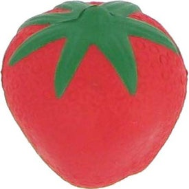 Strawberry Stress Reliever with Your Logo
