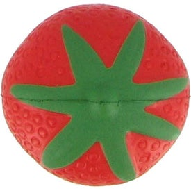 Strawberry Stress Ball with Your Slogan