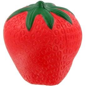 Advertising Strawberry Stress Ball