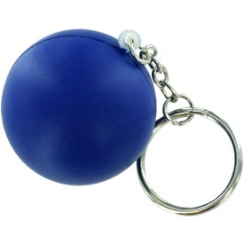 Stress Ball Key Chain Imprinted with Your Logo