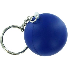Advertising Stress Ball Key Chain