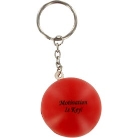 Custom Stress Ball Key Chain