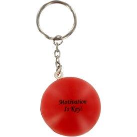 Custom Stress Ball Key Chain