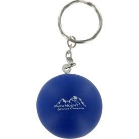 Stress Ball Key Chain for Customization
