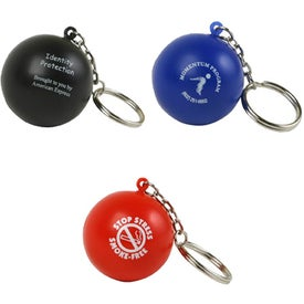 Stress Ball Key Chain