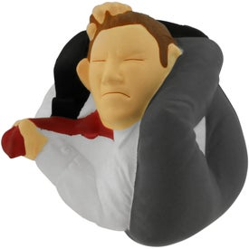 Branded Stressed Man Stress Reliever