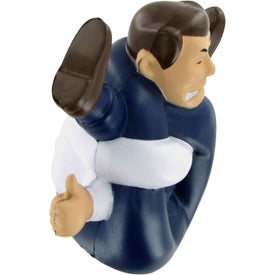 Branded Stressed-Out Man Stress Ball