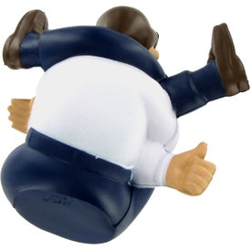 Stressed-Out Man Stress Ball for Advertising