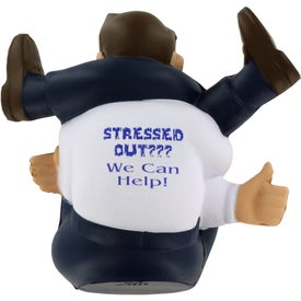 Stressed-Out Man Stress Ball for your School