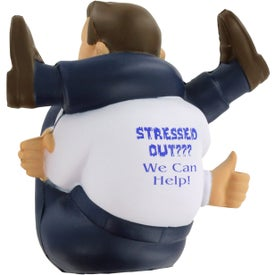 Monogrammed Stressed-Out Man Stress Ball