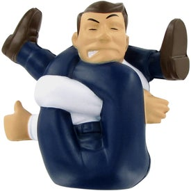 Stressed-Out Man Stress Ball for Promotion
