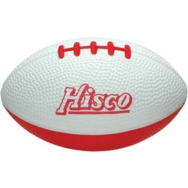 Imprinted Stress Reliever Football
