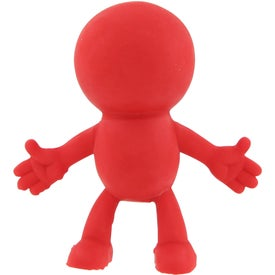 Personalized Strictly Stretchy Dude Stress Ball