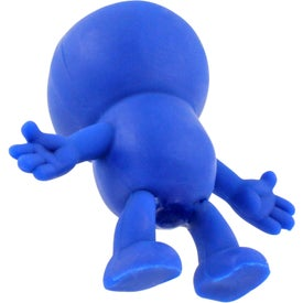Custom Strictly Stretchy Dude Stress Ball