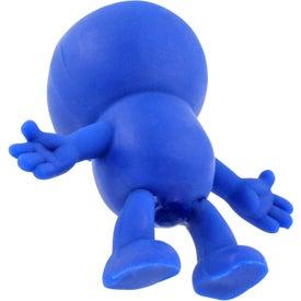 Custom Strictly Stretchy Dude Stress Ball