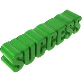 Custom Success Word Stress Ball