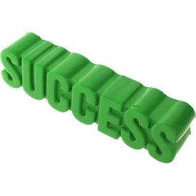 Success Word Stress Ball Giveaways