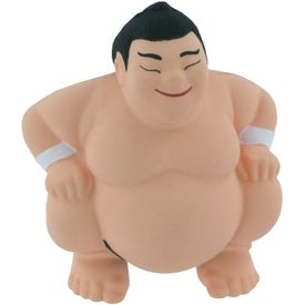 Imprinted Sumo Stress Reliever
