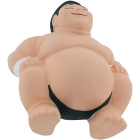 Sumo Stress Reliever with Your Slogan