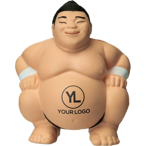 Tan Sumo Stress Reliever