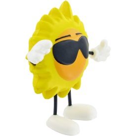 Sun Figure Stress Ball for Promotion
