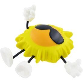 Sun Figure Stress Ball for Advertising