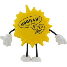 Sun Figure Stress Ball for Your Company