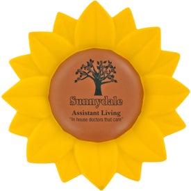 Customized Sunflower Stress Ball