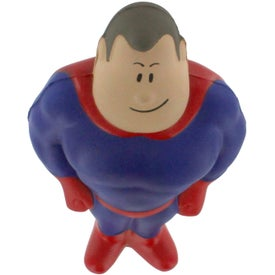 Super Hero Stress Reliever Imprinted with Your Logo