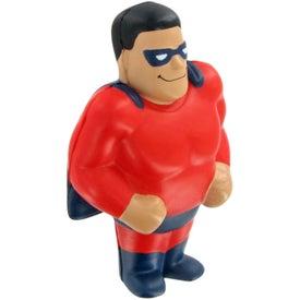 Monogrammed Super Hero Stress Ball