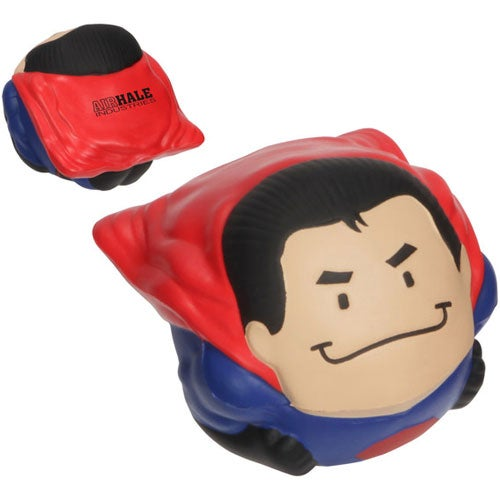 Red / Blue Super Hero Wobbler Stress Ball