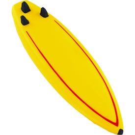 Advertising Surfboard Stress Ball