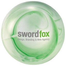 Swirly Stress Reliever Imprinted with Your Logo