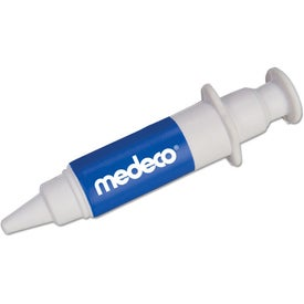 Advertising Syringe Stress Relievers