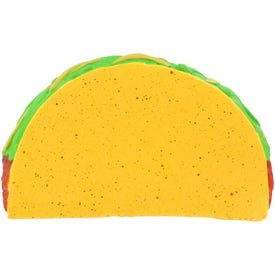 Imprinted Taco Stress Ball