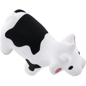 Customized Talking Cow Stress Reliever