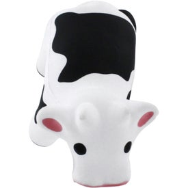 Talking Cow Stress Reliever Imprinted with Your Logo