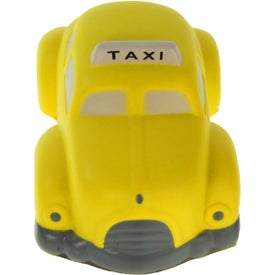 Taxi Stress Ball Imprinted with Your Logo