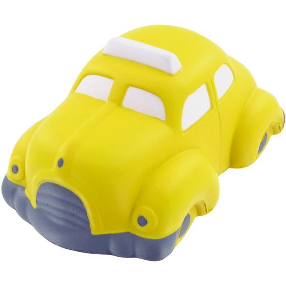 Yellow Taxi Stress Toy